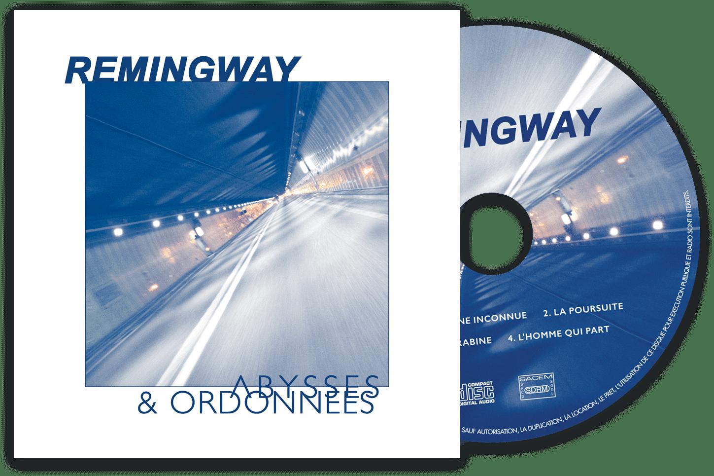 Pochette d'album du dernier EP de Remingway.